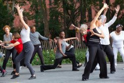 Dances for a Variable Population performing washington square park