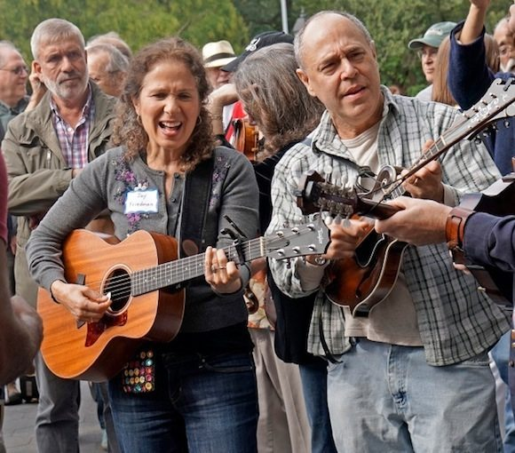 Bluegrass Oldtime Reunion Washington Square Park 2015