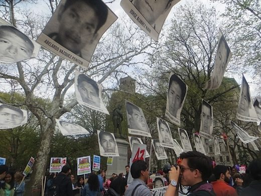 rally_missing_students_mexico_city_washington_square_park_4