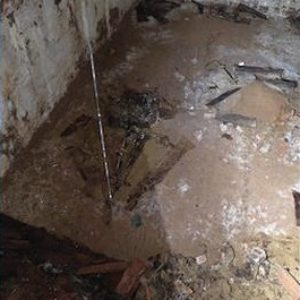 19th Century Burial Vault With Skeletal Remains Found Under Washington Square Park During Water Main Construction
