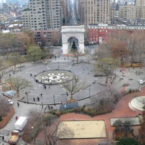 Washington Square Eight Years Ago as Construction was set to Begin…