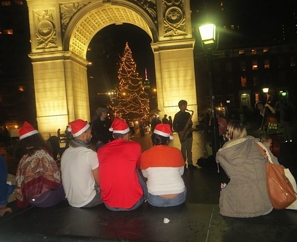 christmas eve washington square