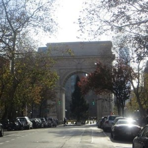 Washington Square, A View In: The Tree Arrives & More at the Park