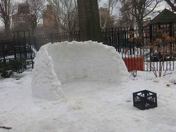 Igloo in Process Washington Square Park
