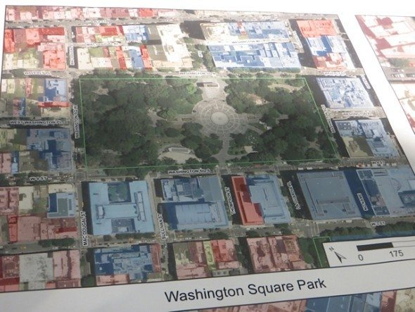washington square park diagram