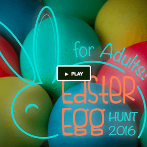 Join in the fun, frenzied hunt for Easter eggs! 1st Adult Easter Egg Hunt Sunday, April 3rd Stuyvesant Park NYC