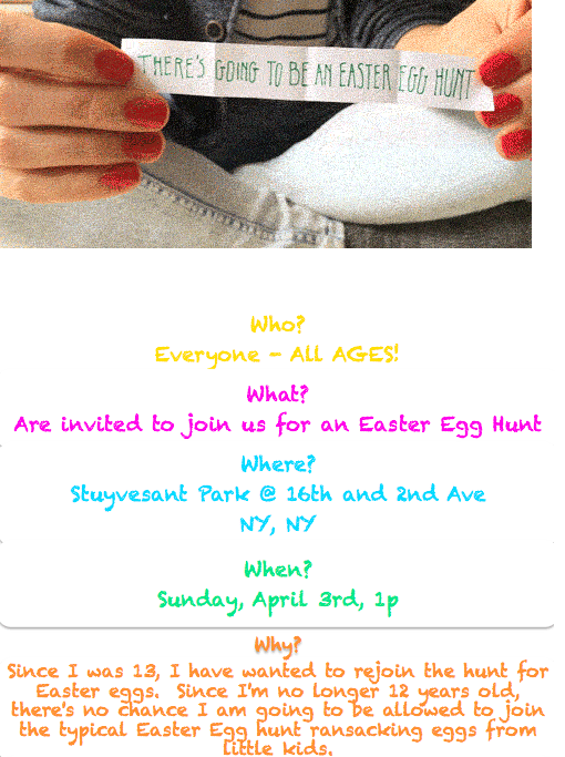 adult easter egg hunt new york city 2016