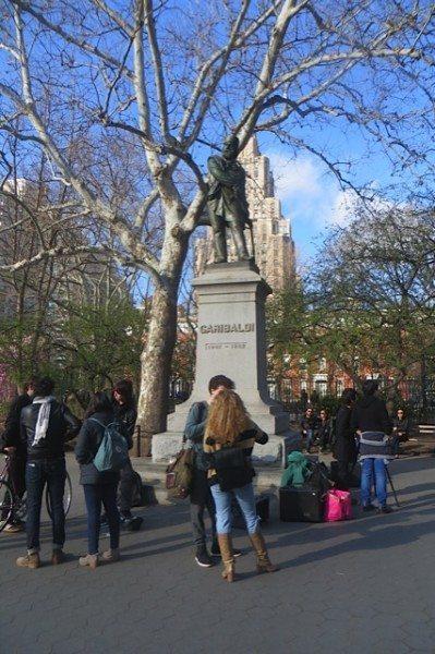 garibaldi statue washington square park