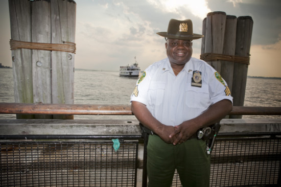 Sam Hendricks former Battery Park City Parks Officer before privatization