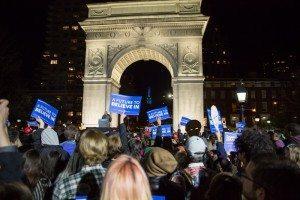 Bernie Sanders Rally Washington Square Park