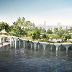 Pier 55 Proposed Diller Island