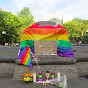 washington square park fountain remembering orlando shooting victims new york city