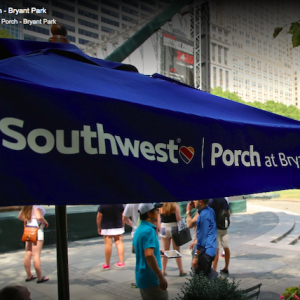 Southwest Porch Bryant Park