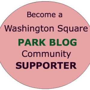 Become a Washington Square Park Blog Community Supporter Today