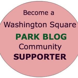 become washington square park blog community supporter