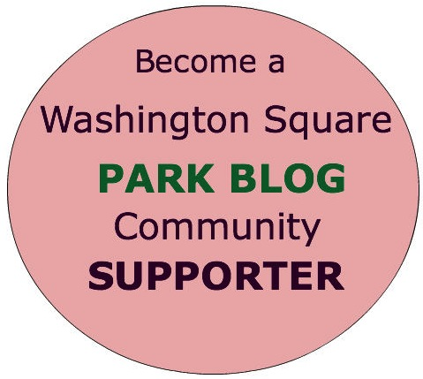 become washington square park blog community supporter