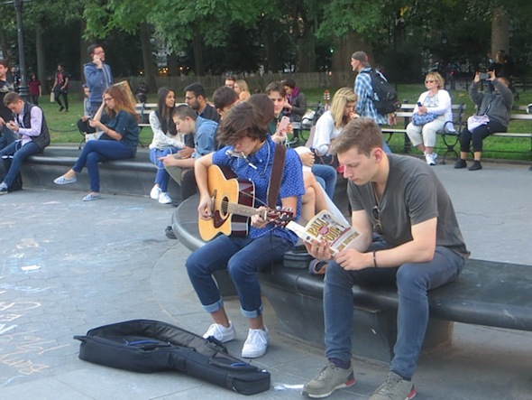ball-four-music-washington-square-park