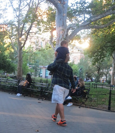 kid-looks-back-music-washington-square-park