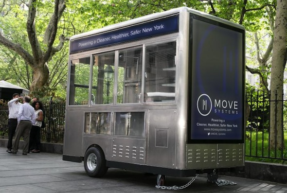 Move Systems Food Cart