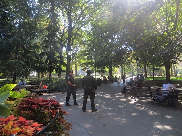 NYPD Parks Enforcement NW Washington Square