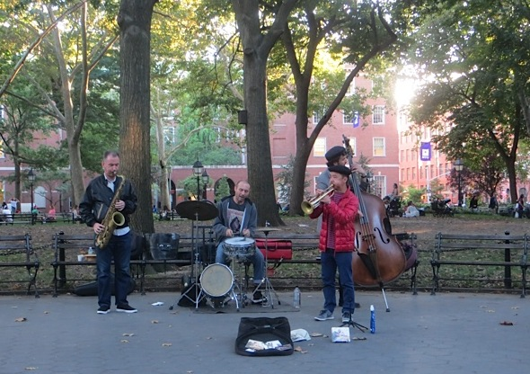 music ryo sasaki washington square park