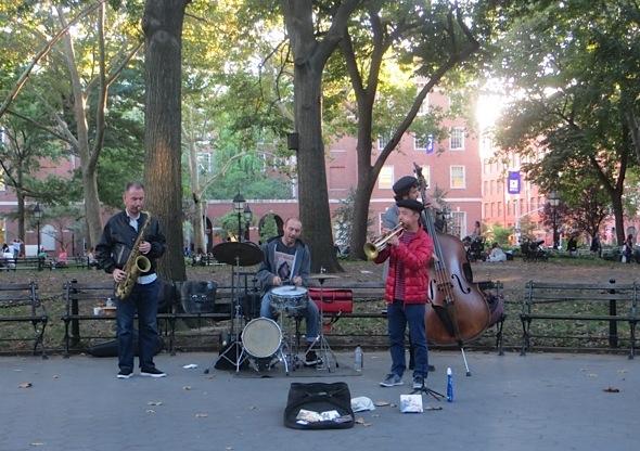 music ryo sasaki washington square park