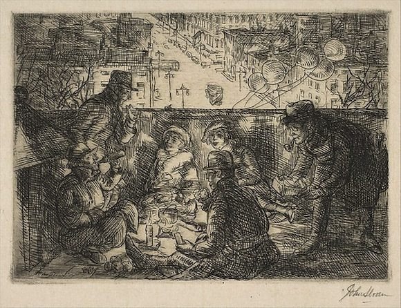 Arch Conspirators by John Sloan