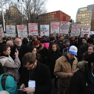 """Profiles of Protest"" Audio Segment Features Highlights from Washington Square Immigrants Rally"