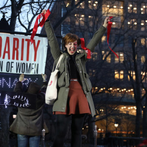 "#RevolutionaryLOVE Fills Washington Square Park as ""Artistic Uprising"" Reclaims Valentine's Day"