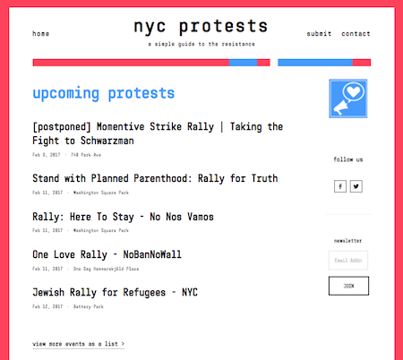 NYC-Protests-Screen Shot