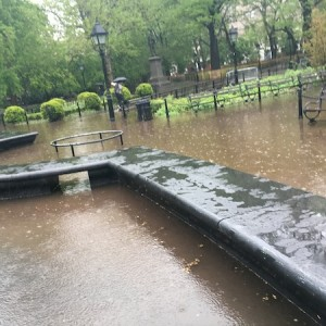 Washington Square Park Flash Flooding: Redesign Fail?