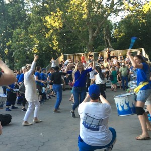 Washington Square Summer: Drummers Take Over Garibaldi Plaza, A Tree Falls, Fountain Flows