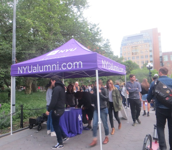 nyu booth washington square park movie