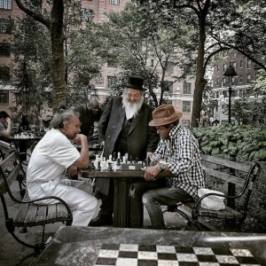 "Summer Scene at Chess Plaza: ""This Epitomizes NYC in so Many Ways!"""