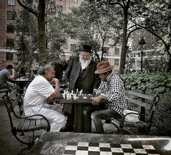 Chess Plaza Washington Square Park