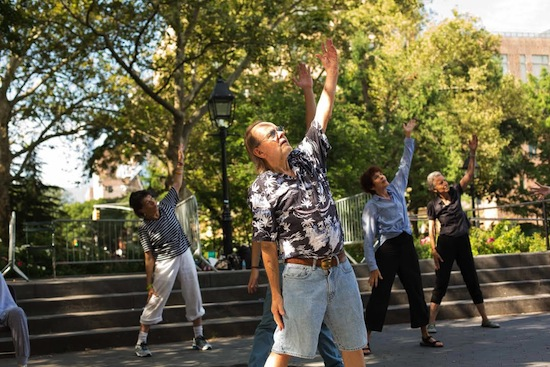 dances for a variable population washington square 2