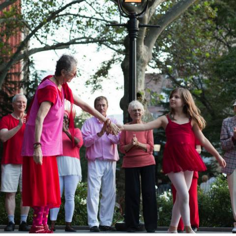 dances for variable population washington square park