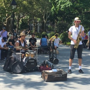 Late Summer at Washington Square: In Photos