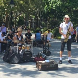 Receta Secreta band washington square park