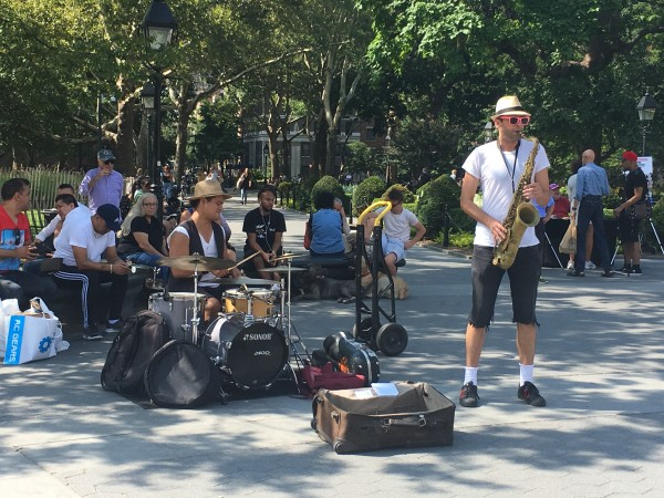 Receta Secreta band washington square park