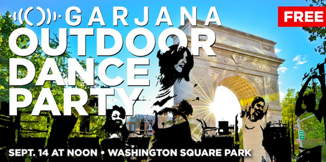 garjana dance party washington square park