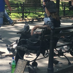 Larry and Friends. Washington Square Park.