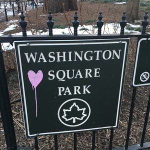 Washington Square Park to be Discussed First Meeting Jan. 2018 Comm Bd 2 Parks Committee