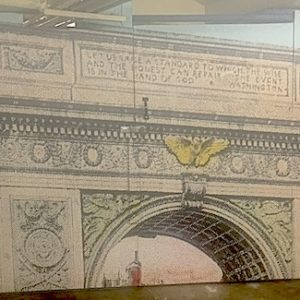 Washington Square Arch Mural at West 4th Street Subway