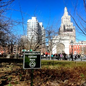 Last Day of Winter, Washington Square Park. Technically.