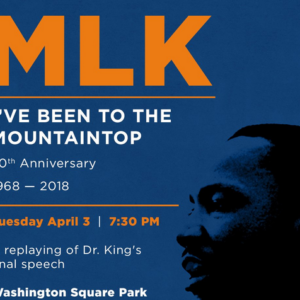 NYC Remembers Martin Luther King Jr. With Replay of Final Speech at Washington Square Park Tuesday