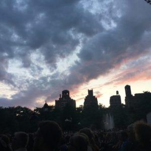 Nighttime Sky Washington Square