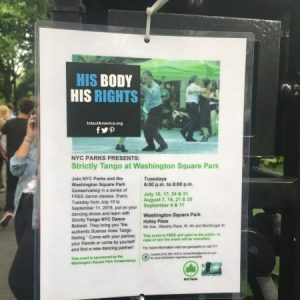 Get Your Yoga, Tai Chi, Tango & More at Washington Square Park This Summer – With a Dose of Privatization Watch Thrown in for Good Measure!