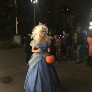Washington Square Park Open During Village Halloween Parade 2018