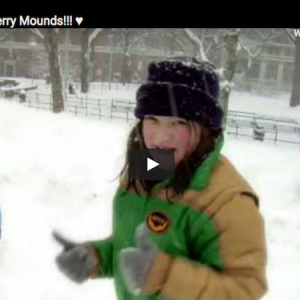 "A Look Back: Sledding on the Washington Square Park Mounds as Seen in ""Merry Mounds"" Video"